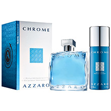 Azzaro Chrome Sada EdT 100ml + deodorant 150ml