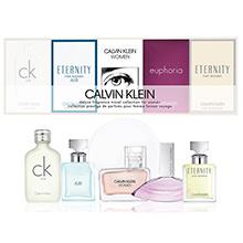 Calvin Klein Miniatury pro ženy Kolekce - sada 5 miniatur parfémů