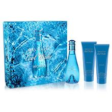 Davidoff Cool Water Woman Dárková sada EdT 100ml + tělové mléko 75ml + sprchový gel 75ml