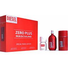 Diesel Zero Plus Masculine Dárková sada EdT 75ml + EdT 30ml + deostick 75ml