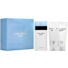 Dolce & Gabbana Light Blue Dárková sada EdT 100ml + tělový krém 100ml + sprchový gel 100ml