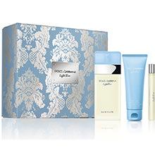 Dolce & Gabbana Light Blue Dárková sada EdT 100ml + tělový krém 75ml + EdT 10ml