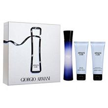 Giorgio Armani Code Dárková sada EdP 75ml + sprchový gel 75ml + tělové mléko 75ml