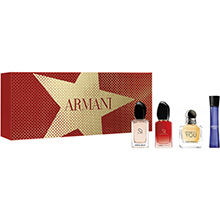 Giorgio Armani Miniatury Kolekce - sada 4 miniatur parfémů
