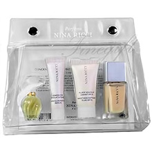Nina Ricci L´Air du Temps Mini sada EdT 2,5ml + miniatury kosmetických přípravků