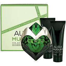 Thierry Mugler Aura Sada EdP 50ml + sprchový gel 50ml + tělové mléko 50ml